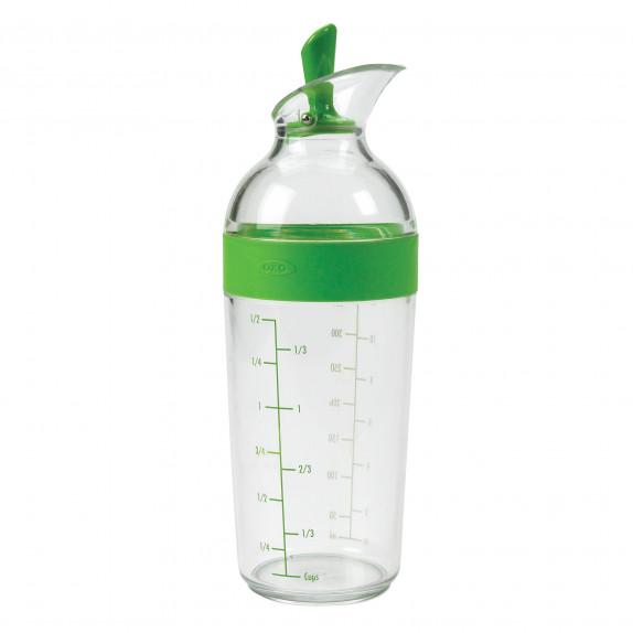 Shaker à vinaigrette 350 ml vert