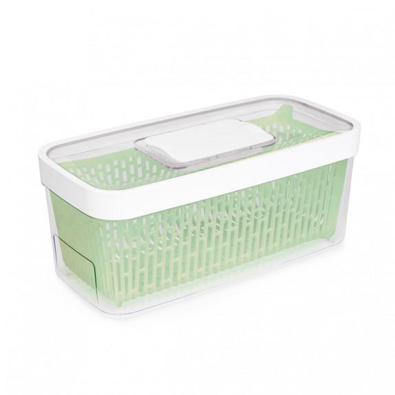 Boîte de conservation fruits et légumes Greensaver 4,7 L