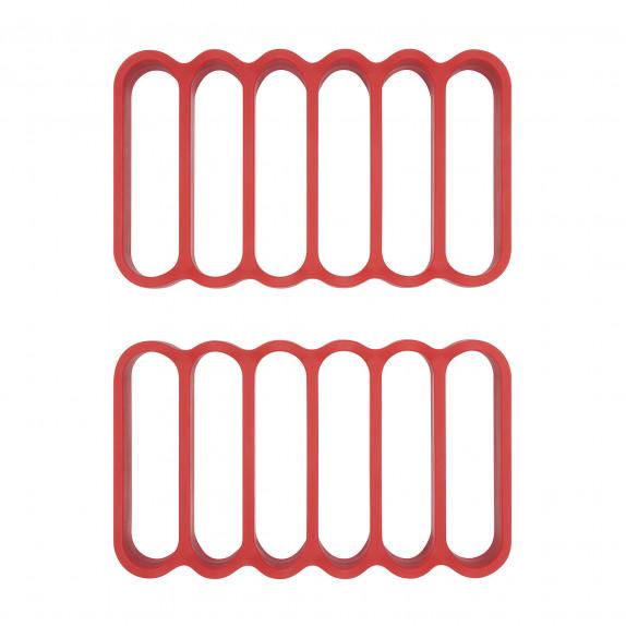 Set de 2 grilles à rôtir en silicone