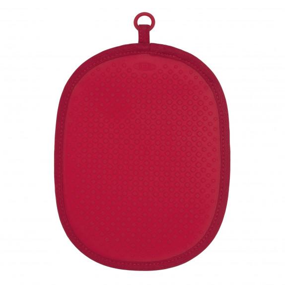 Manique de cuisine en silicone rouge