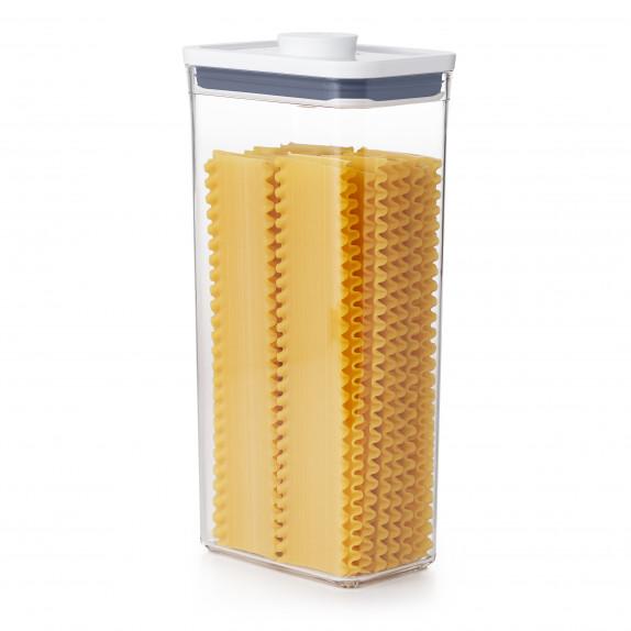 Boîte de conservation POP rectangulaire haute 3,5 L