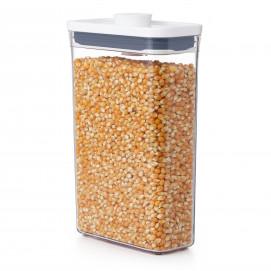 Boîte de conservation POP rectangulaire fine 1,8 L