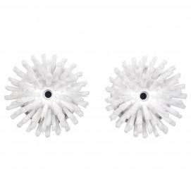 Set de 2 brosses de rechange pour brosse distrib. savon OX36481