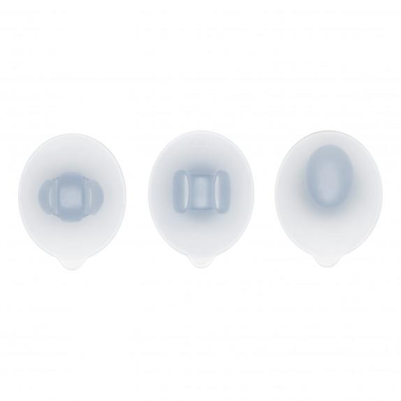 Set de 3 crochets à ventouse pour salle de bain