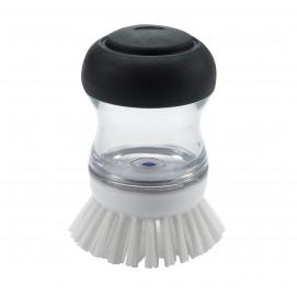 Brosse à vaisselle ronde distributrice de savon