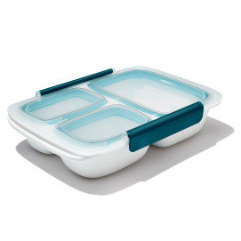 Lunch Box 970 ml rectangle 3 compartiments